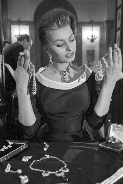 Image result for sophia loren jewelry