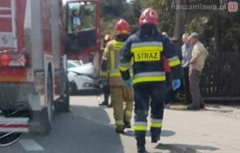 Wypadek na DK7 w Wiśniewie. ZDJĘCIA [AKTUALIZACJA]