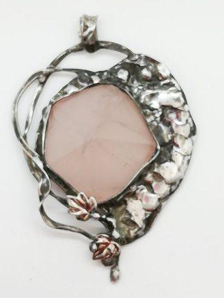 kwarc różowy