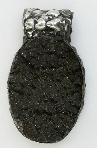 kwarc tytanowy druza