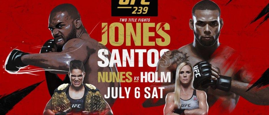UFC 239 - wyniki ważenia