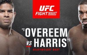 UFC Portland: Overeem vs Harris