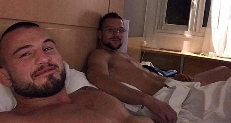 Borys Mańkowski i Mateusz Gamrot
