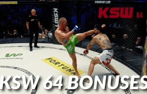 KSW 64 bonusy
