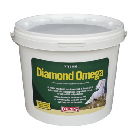 equimins diamond omega micronised linseed supplement