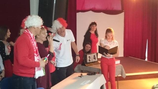 Turniej Kocham Cię Polsko! w Gimnazjum nr 1 w Śremie