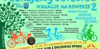 Poznajemy Sołectwa Gminy Dolsk, czyli Wakacje na rowerze 2