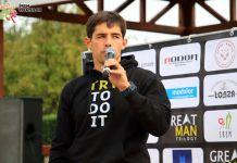 Paweł Kotas, organizator Triathlonu z serii GreatMan