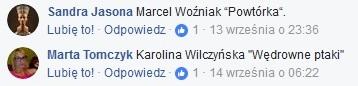 Książki: Karolina Wilczyńska Wędrowne ptaki / Marcel Woźniak Powtórka [KONKURS]