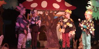 Jesienny las teatrem wita Was: XI przegląd teatrzyków przedszkolnych