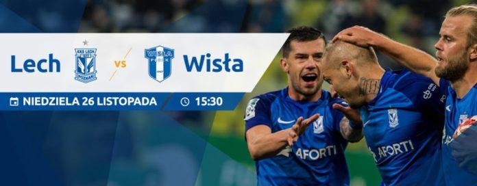 Lech Poznań - Wisła Płock: grafika meczowa