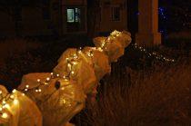 Rynek w Dolsku świątecznie przystrojony