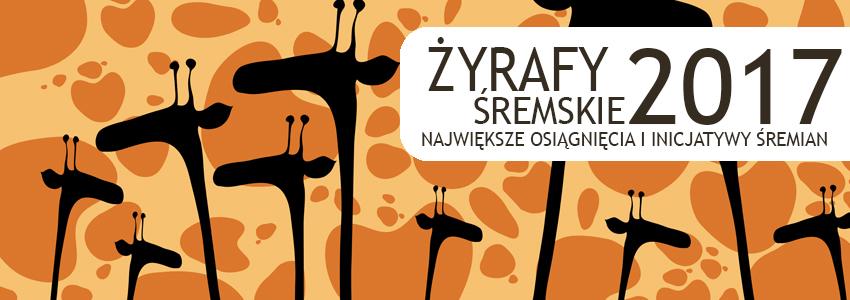 Śremskie Żyrafy 2017 - nominacje do nagrody