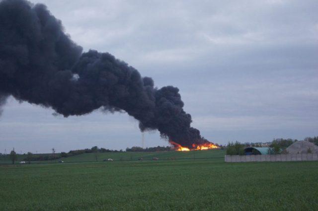 Pożar wysypiska odpadów Sanbud w Pyszącej: jest komunikat GCZK