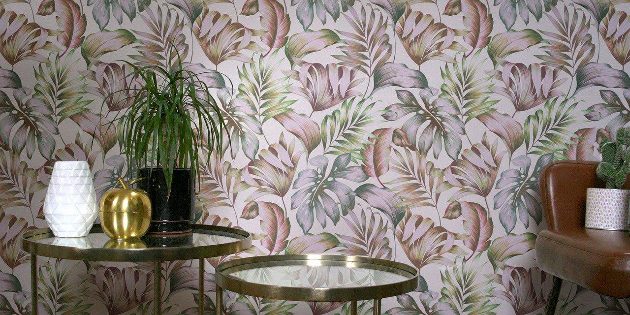 Un mur de papier peint écologique
