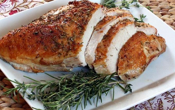Petto di pollo cotto nel forno