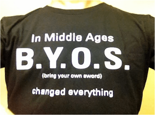 In Middle Ages, B.Y.O.S changed everything