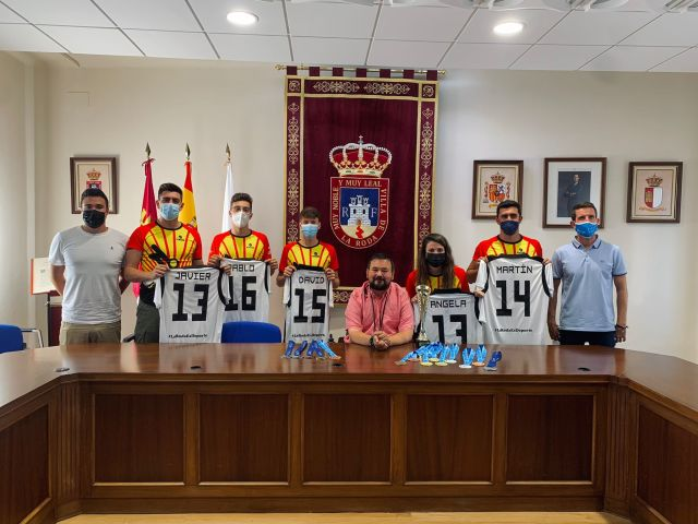 Recepción en el Ayuntamiento de La Roda