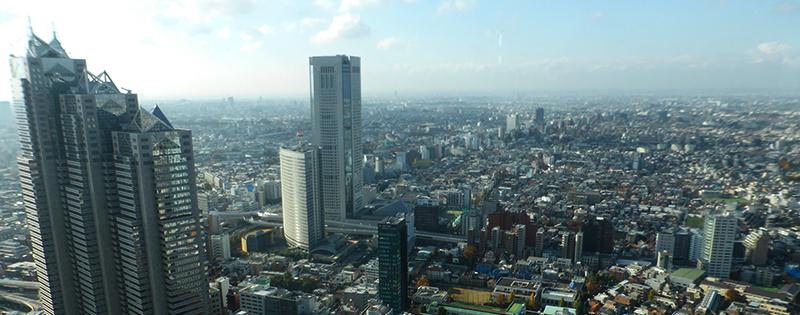 Itinerario Tokyo Skyline