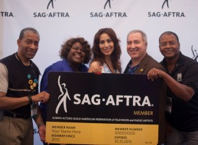 Posing with my Chicago posse: Craig Dellimore, Ashley Dearborn, Richard Shavzin, and Razz Jenkins!