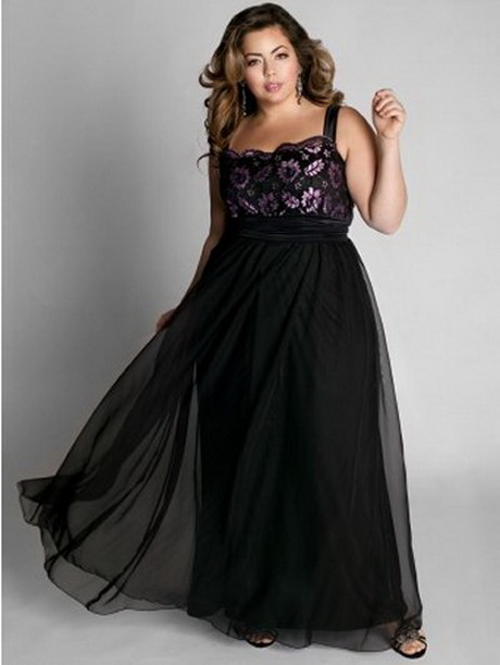 Evening dresses for big women