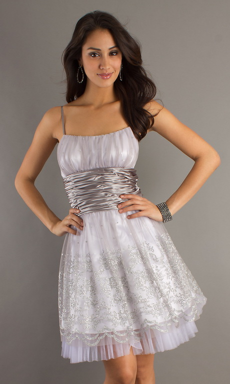 Silver Party Dresses For Juniors