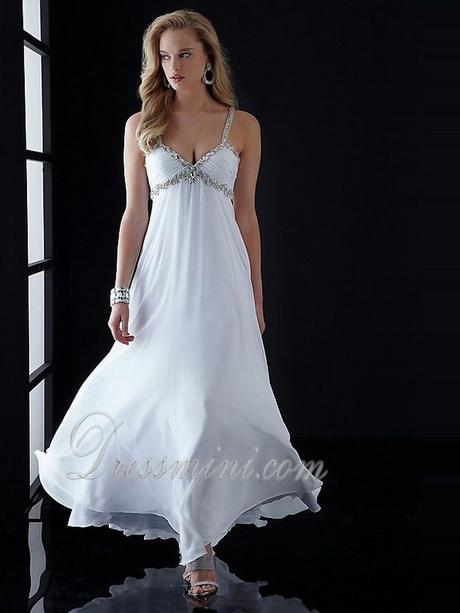White Flowy Dresses