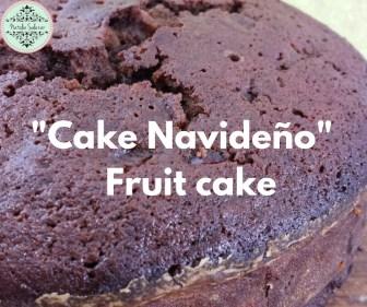 Clase de cómo hacer Fruit cake