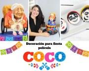 Decoración para fiesta de la Película COCO- idas DIY
