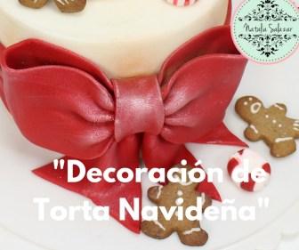 Clase decoración de Torta Navideña