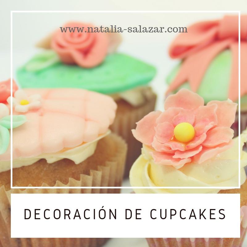 Clase 8: Decoración de cupcakes con fondant y buttercream