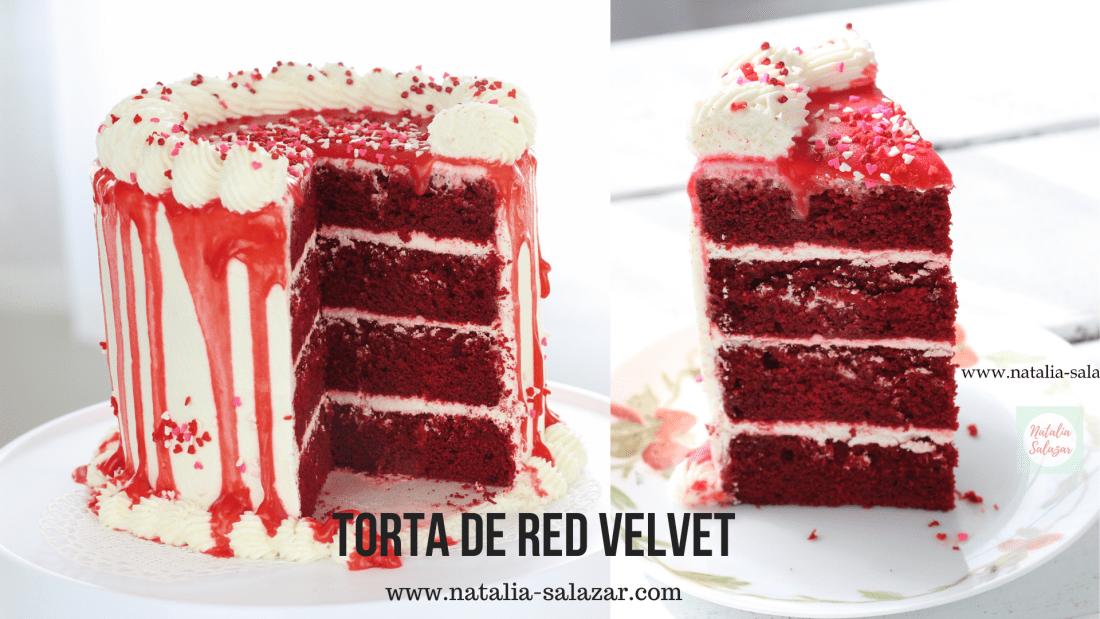 Receta torta Red Velvet