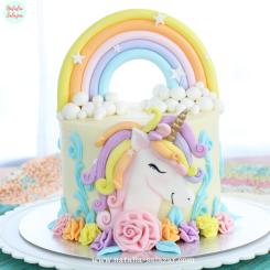 Unicorn cake natalia salazar