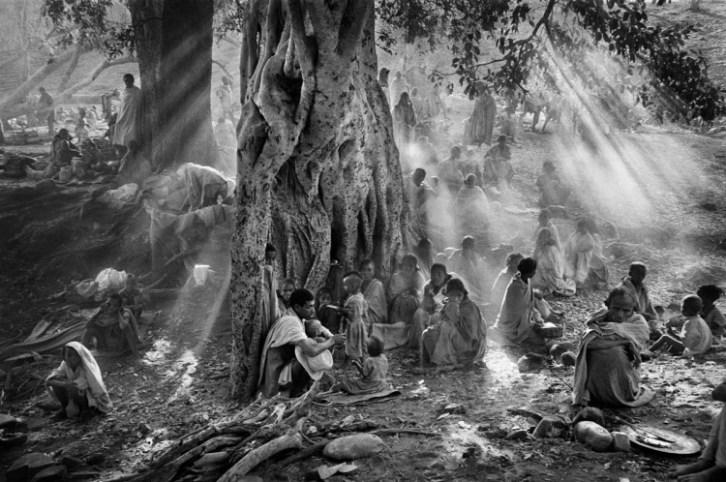 Campamento de Kalema, Etiopía,1985.