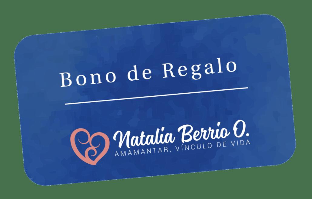 Bono de Regalo - Natalia Berrio