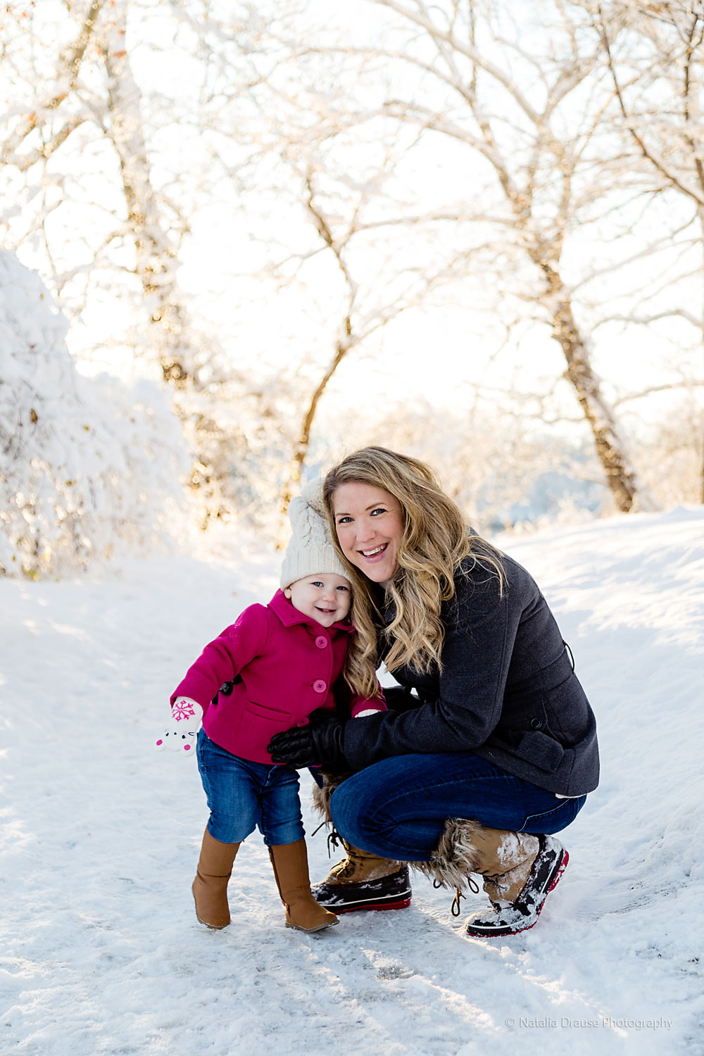 South Bend IN Winter Family Photo Session Natalia Drause