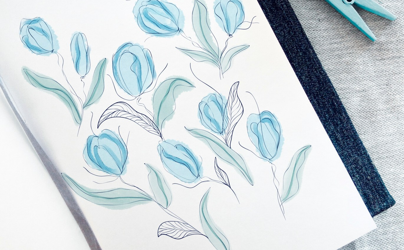 Did you ever see blue tulips?