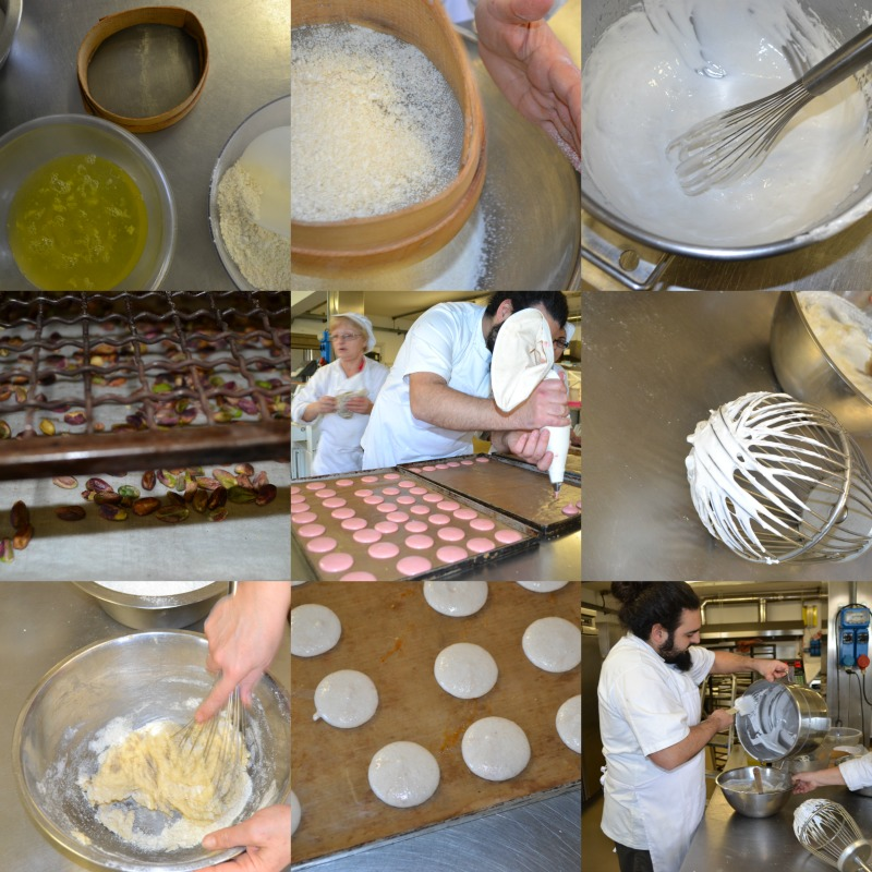 making savory macarons Italian style... a very special starter for any occasion