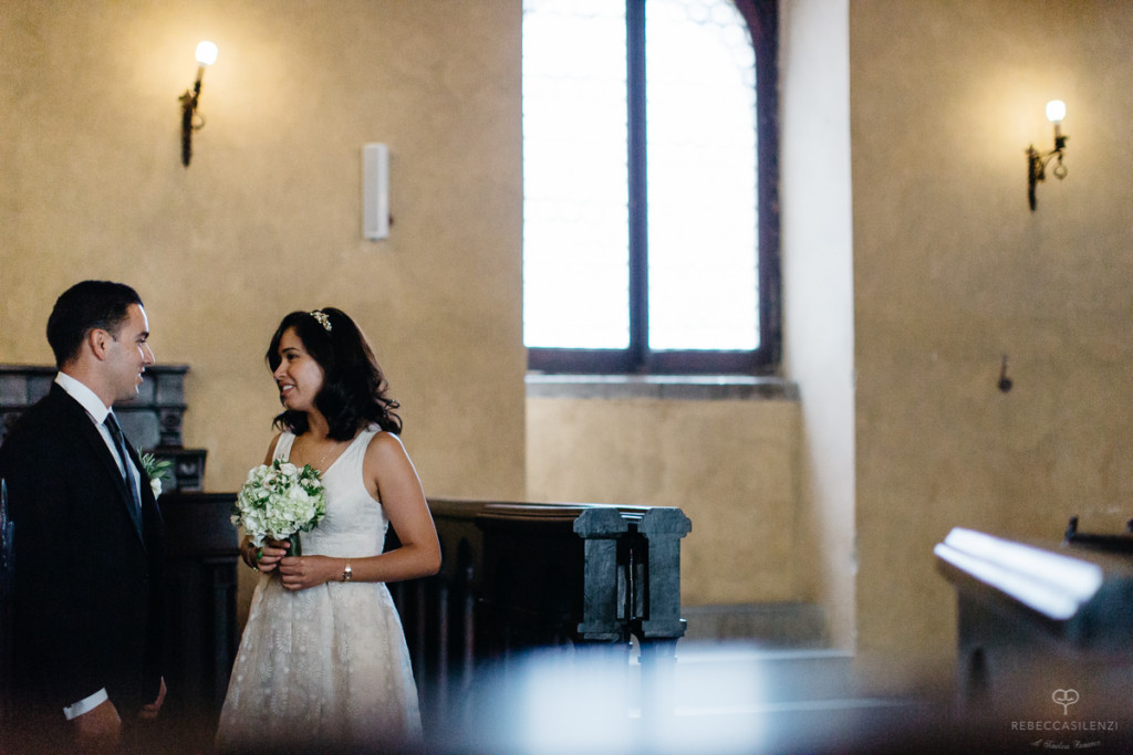 Their Civil wedding ceremony took place in the Historic City Hall of Cortona, a well renowned Etruscan town in the heart of the Tuscan countryside, very close to most famous Tuscan art cities like Siena, Arezzo, Montepulciano and the picturesque Chianti region.