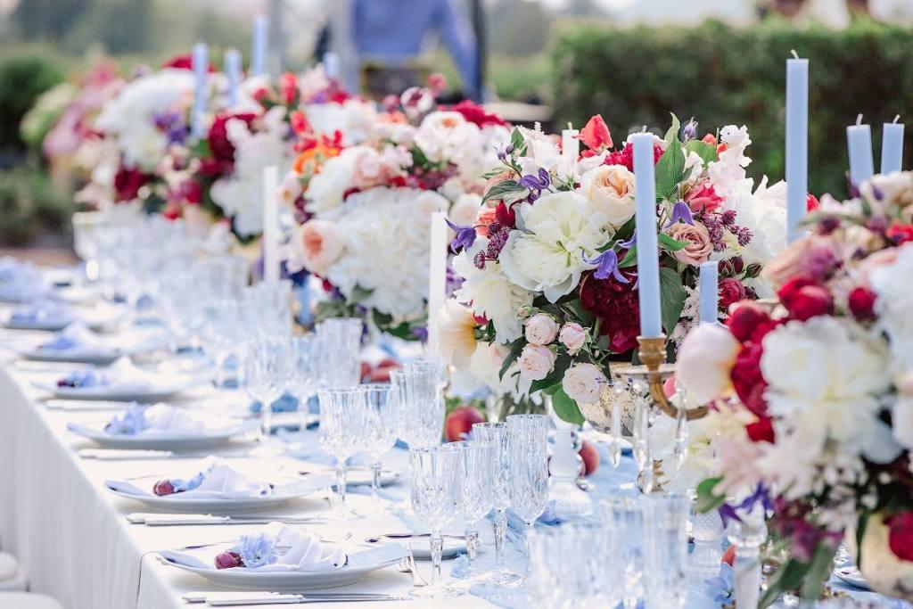 wedding reception in Charming Tuscan Villa near Florence