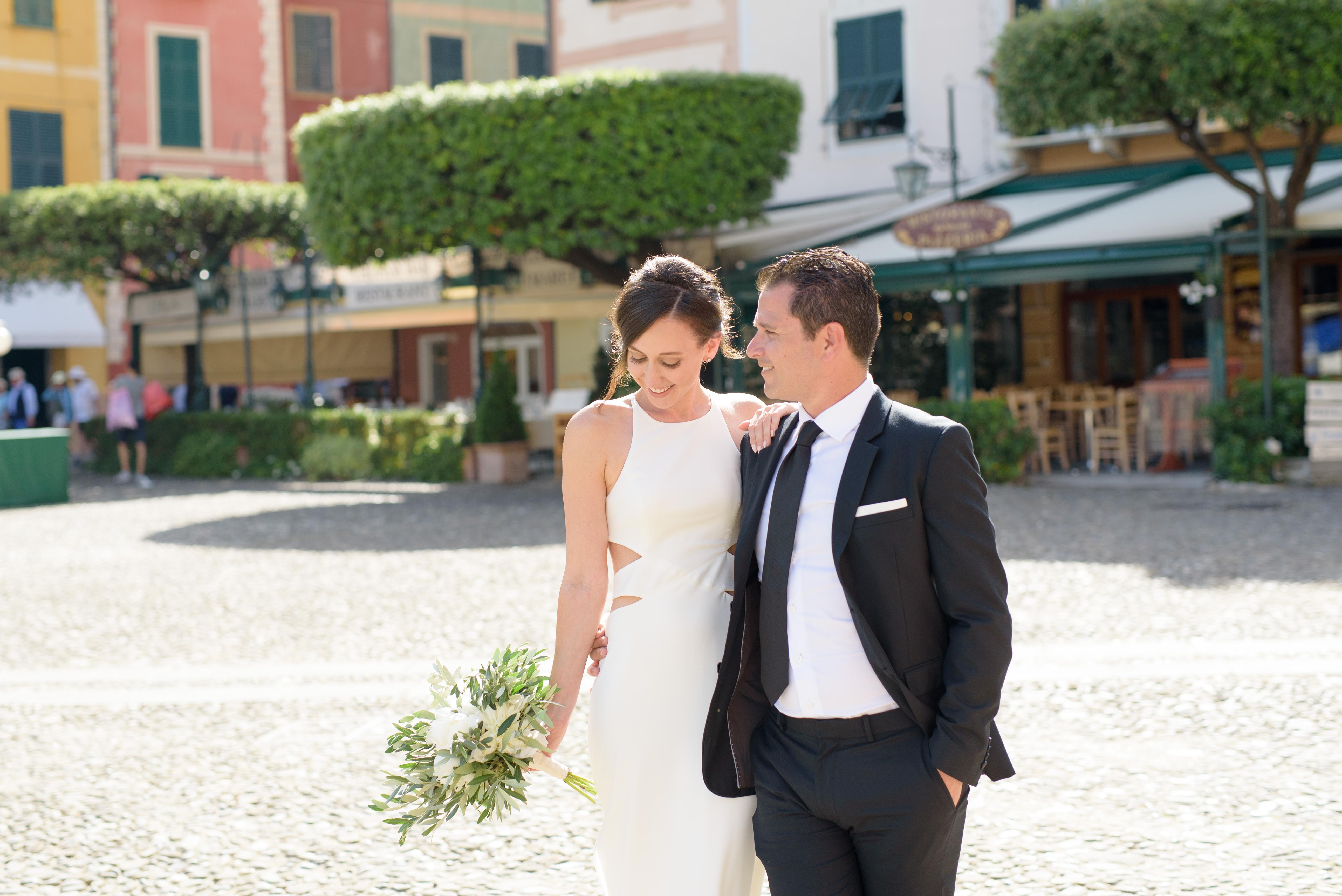 Stylish elopement wedding - Portofino
