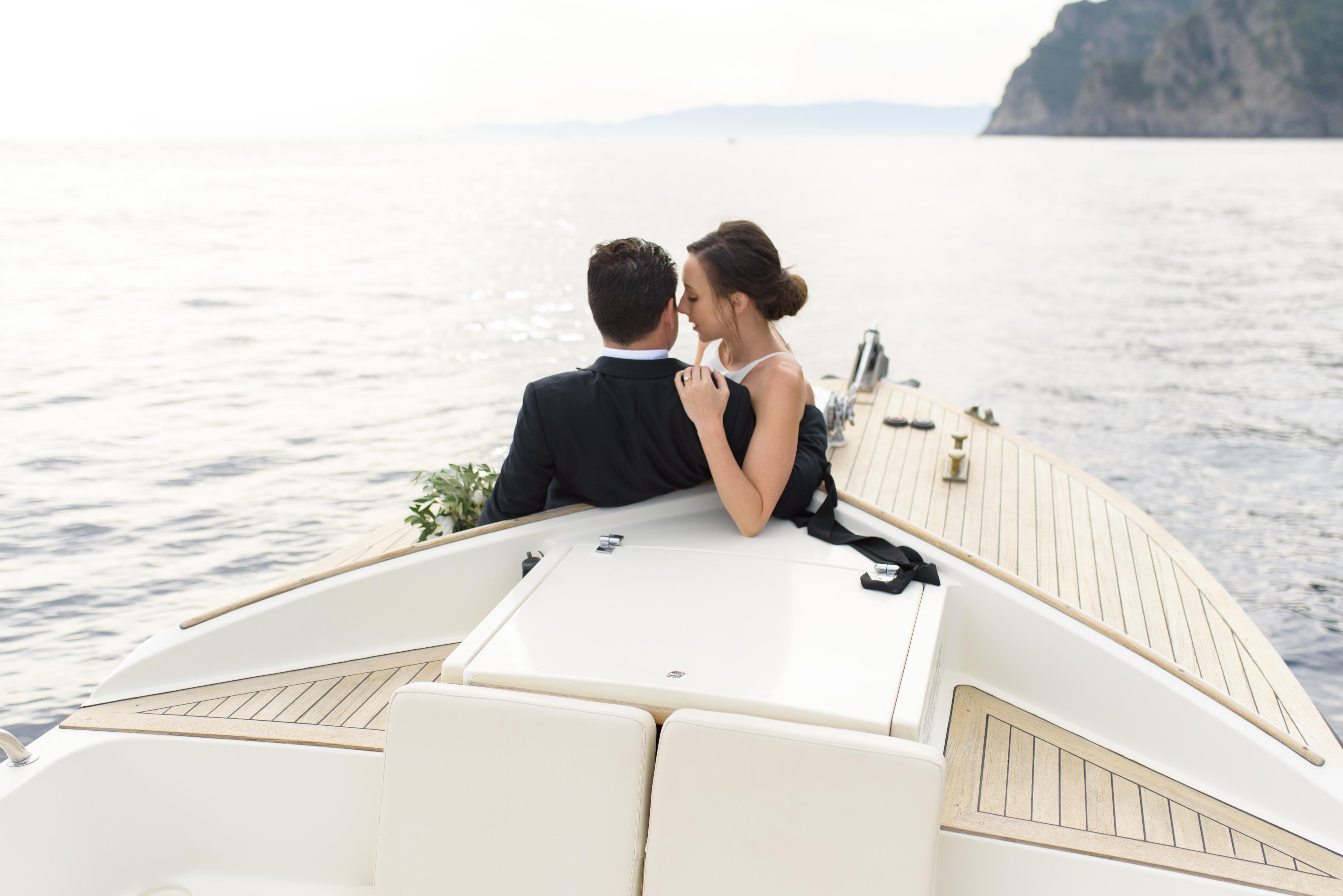 Seaside Romantic Elopement in Portofino