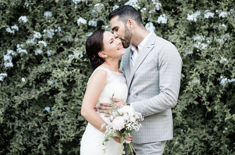 Kristina & Christian's wedding at Villa Maresme