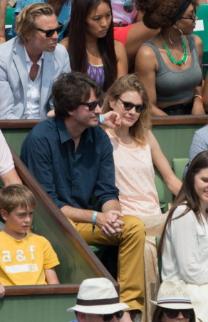 Celebrities At French Open 2013 - Day 14