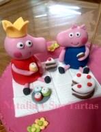 Tarta Peppa Pig merienda_4