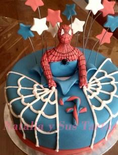 Tarta Spiderman_2