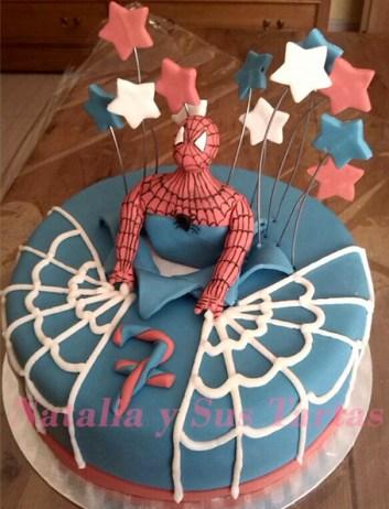Tarta Spiderman_5
