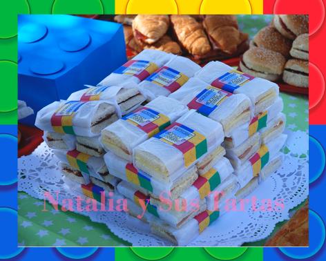Cumpleaños lego 5