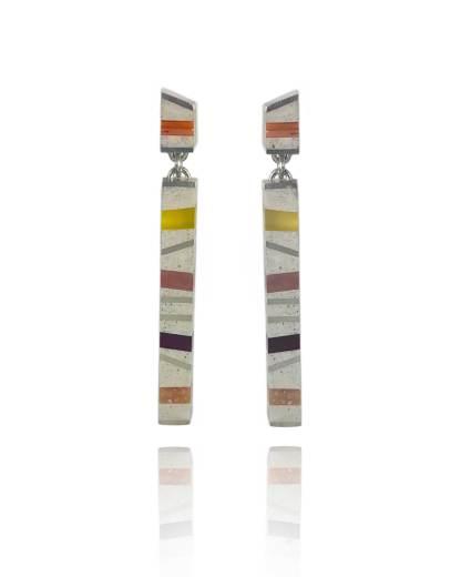 Long Pillar Earrings