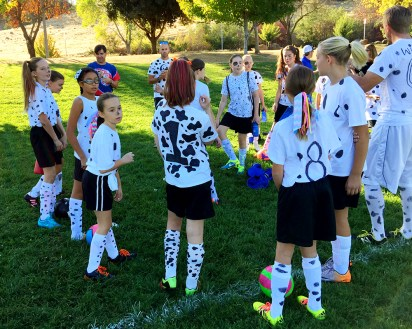 halloween soccer team costumes